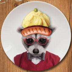 Petite assiette Wild Dining - Cadeau Maestro 11€