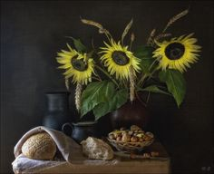 Sunflowers by Eleonora Grigorjeva on 500px