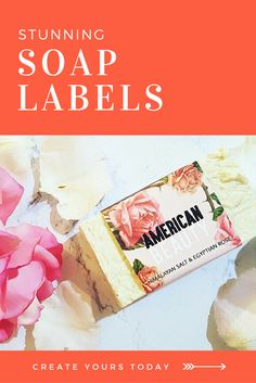 For Beginners handmade soaps * Soap Labels, Soap Packaging, Packaging Ideas, Homemade Soap Recipes, Homemade Gifts, Diy Household Tips, Cosmetic Labels, Soap Display, Goat Milk Soap