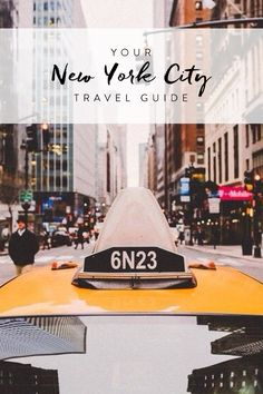 Your guide to NYC travel. Everything you should see and do while you visit New York City.