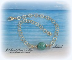 AMAZONITE Faceted Amazonite and Sterling silver bracelet  AB002716 by SurrealTreasures on Etsy https://www.etsy.com/listing/464457922/amazonite-faceted-amazonite-and-sterling