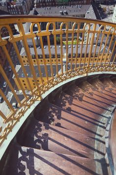 JOELIX.com - The amazing CPH view http://www.joelix.com/The-amazing-CPH-view #copenhagen #vorfrelserskirke #view #staircase