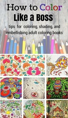 Pencil Drawing Color Learn how to rock coloring books with these tips and tricks for awesome coloring, shading, and embellishments! - Learn how to color and rock coloring books with these tips and tricks for awesome coloring, shading, and embellishments! Colored Pencil Techniques, Colored Pencil Tutorial, Coloring Tips, Kids Coloring, Free Coloring, Coloring Tutorial, Colouring Techniques, Coloured Pencils, Color Pencil Art