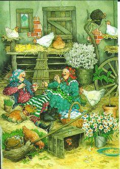 29 Ideas Illustration Art Funny Inge Look Illustrations, Illustration Art, Old Lady Humor, Nordic Art, Detail Art, Old Women, Art Pictures, Folk Art, Canvas Art