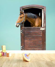 Die 64 besten bilder von pferde zimmer pferde zimmer pferde und dekoration - Pferde kinderzimmer ...