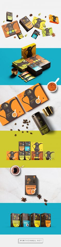 Ajyal Coffee packaging by Sweety & Co.