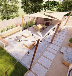 Backyard Planters, Backyard Seating, Outdoor Seating Areas, Backyard Patio, Backyard Ideas, Outdoor Retreat, Outdoor Rooms, Outdoor Living, Outdoor Furniture Sets