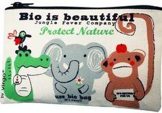 Suojellaan luontoa yhdessä! Coq en Pâten luomupuuvillainen pussukka sopii aikuiselle tai lapselle, meikkipussukaksi tai penaaliksi. Bio is Beautiful! Coq en Pâte / lastenverkkokauppa.fi