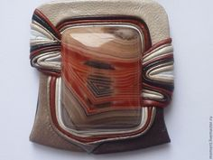 """Купить гривна """" Венеция"""" - авторская ручная работа, натуральные камни, натуральная кожа"""