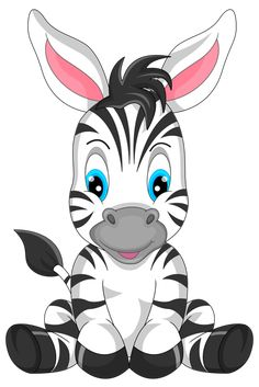 Illustration about Illustration of cute zebra cartoon. Illustration of hoof, gift, mascot - 47136019 Cartoon Cartoon, Zebra Cartoon, Cartoon Kunst, Zebras, Cute Drawings, Animal Drawings, Cute Images, Cute Pictures, Cute Clipart