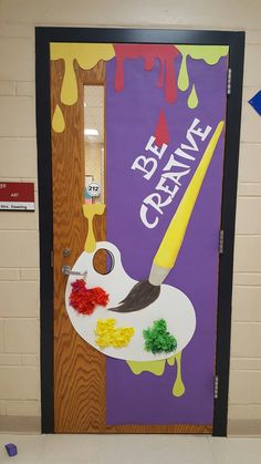 Year door covering for the Art Room. – K Downing – Decoration Door Year door covering for the Art Room. – K Downing Year door covering for the Art Room. – K Downing Teacher Door Decorations, School Decorations, Kids Room Art, Art For Kids, Art Classroom Door, Classroom Setup, Art Room Rules, Art Room Doors, Art Bulletin Boards