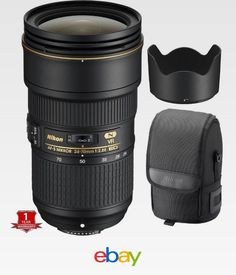 486ba47e4b4a Details about Nikon AF-S NIKKOR 24-70mm f/2.8E ED VR Lens for Camera Bodies