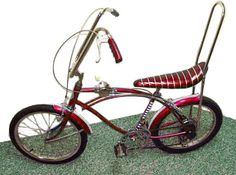 "You were the ""bomb"" if you owned a banana seat bike, just like today if a young person has a car first everyone wants to mooch a ride :)"