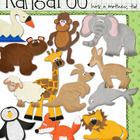 "By request, here is another ""inspired by Eric Carle"" set which compliments the book, Does Kangaroo Have a Mother, Too?    This 14-piece set includes ... $6.00"