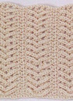 Crochet Stitch - Free Crochet Diagram - (woman7)