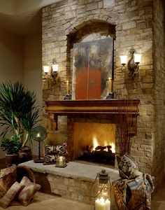 Fireplace In Multi Million Dollar Home Designed By Fratantoni Luxury Estates Mediterranean Living
