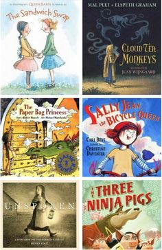 Picturebooks for Raising Independent Girls. | My daughter loves pink and purple, but is just as likely to jump in a mud puddle as she would be to convince her big brother and all the superheros or monsters of the day to have a tea party. I want her to stay open to all possibilities and be a strong individual. Here are some of the best #picturebooks that I have found that support growth of every girl into a strong, capable individual...