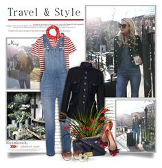 """""""Travel & Style"""" by thewondersoffashion ❤ liked on Polyvore featuring Prada, Être Cécile, Madewell, FAY, Chanel, Gucci, rag & bone and Linda Farrow"""