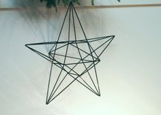 Geometric Star Mobile  X Large Scandinavian himmeli by meginsherry, $52.00