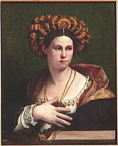 Portrait of a woman by Dosso Dossi