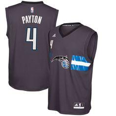 289720c2f9a Elfrid Payton Orlando Magic adidas Alternate Replica Jersey - Black