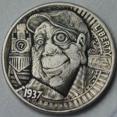 Carver : John Schipp...a very original talent in the nickel carving field!!!