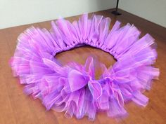 Purple Tutu by @PrissiePants on Etsy