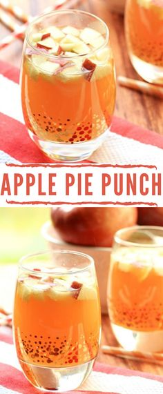 This Non Alcoholic Apple Pie Punch is the perfect virgin cocktail drink for fall and thanksgiving! Strain the apples and it is a kid-friendly punch too! thanksgiving drinks Non Alcoholic Apple Pie Punch - Frugal Mom Eh! Drinks Alcohol Recipes, Yummy Drinks, Healthy Drinks, Fall Drinks Alcohol, Drink Recipes Nonalcoholic, Kid Drinks, Dinner Healthy, Healthy Soup, Healthy Recipes