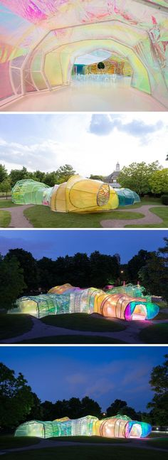 Serpentine Gallery- each Summer the gallery invites an international architect, who has not built in London yet, to build a Summer pavillion. Last year was a multicolour cocoon, wonder what this year will be! Free