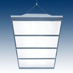 Office lighting ideas.... Vaetros 4 ft. 2-Lamp 28W T5 Dimmable Fluorescent Recessed Direct/Indirect Fixture, 120-277V