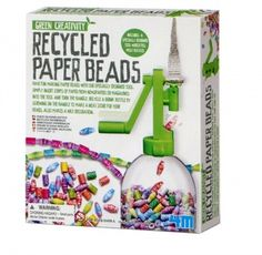 Green Science Recycled Paper Beads