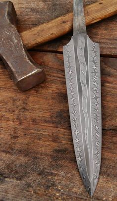 forge Elidor Joel Matter knives I need a forge and all the tools so I can make knives like this damascus