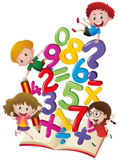 Vector Hand Drawn Cartoon Numbers, Vector, Hand Painted, Cartoon PNG Transparent Clipart Image and PSD File fo Math Cartoons, School Frame, School Murals, School Clipart, Math Clipart, School Decorations, Cartoon Kids, Book Illustration, In Kindergarten