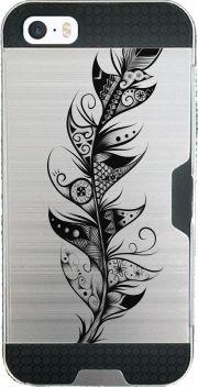 coque transparente Feather pour Iphone SE