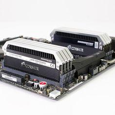 64GB of Corsair Dominator Platinum 2133MHz ROG on Rampage IV Black Edition!