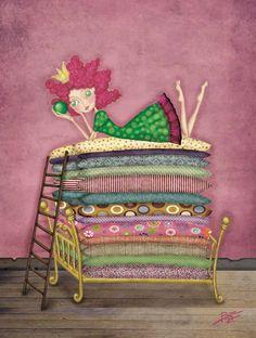 The Princess Founded Pea By Paula Domínguez From Porque Sueño