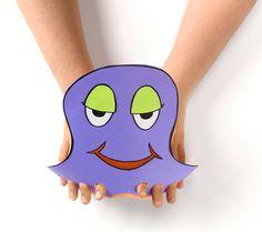 Finger Octopus craft