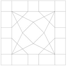 Free Printable Quilt Blocks | free quilt patterns and templates for hand english foundation paper ...