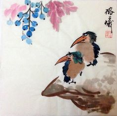 flower bird