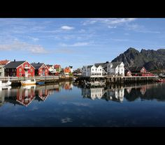 Henningsvaer, Lofoten Islands, Norway