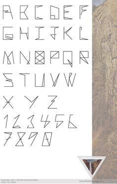 typography Alphabet Symbols, Typography Alphabet, Number Typography, Number Fonts, Design Typo, Lettering Design, Fancy Letters, Letters And Numbers, Creative Fonts