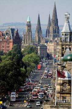 Princes Street - Edinburgh, Scotland