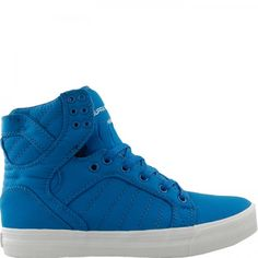 Supra SKYTOP Mens Shoe Royal Nylon - #Sneakers