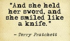 Terry Pratchett novels are so great.