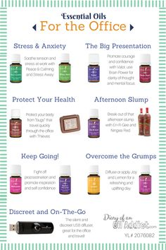 Young Living Essential Oils: Office