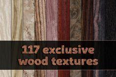Exclusive wood veneer textures pack by oosDesign on @creativemarket