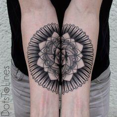mandala tattoos - 1337tattoos:   dotstolines