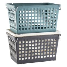 Nesting and stacking baskets: the container store