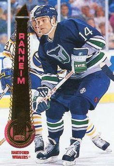 1994-95 Pinnacle #138 Paul Ranheim Front