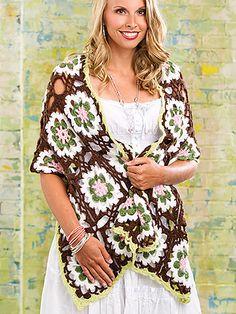 Ravelry: Flower Dance Shawl pattern by Premier Yarns Design Team